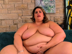 Mega Fat Erin Untried Masturbates involving Toy