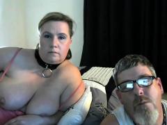 Kinky obese BBW wife rides obese husband