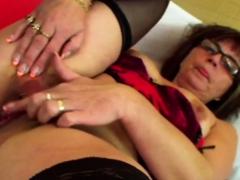 NERDY aged LADY JANA taking advantage be useful to YOUNGER man