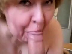 Granny Head  35 Fat Old norske Slut & Younger svenske Guy